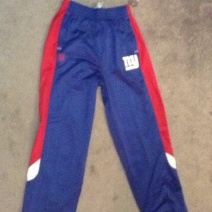 NFL NY Giants XL youth pants with elastic waist